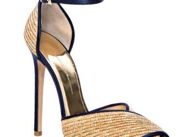 scarpa laminata plissettata