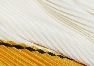 sciarpa plisse' macchina