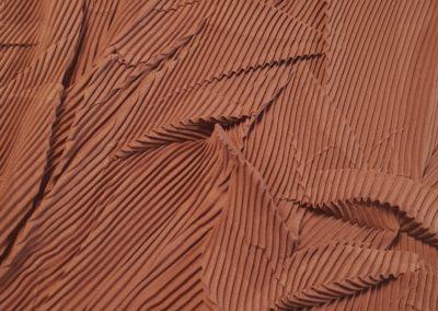 tessuto plissettato foglia727