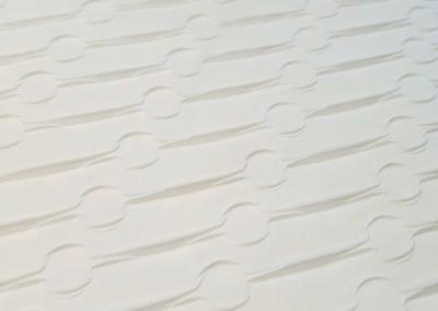 tessuto plissettato pinch818