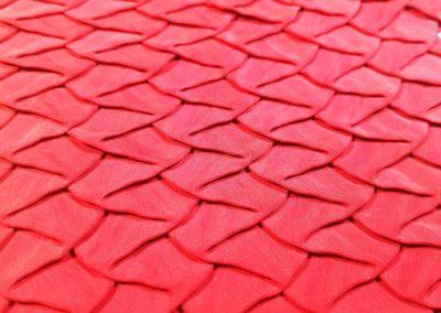 tessuto plissettato cartone lavorato603