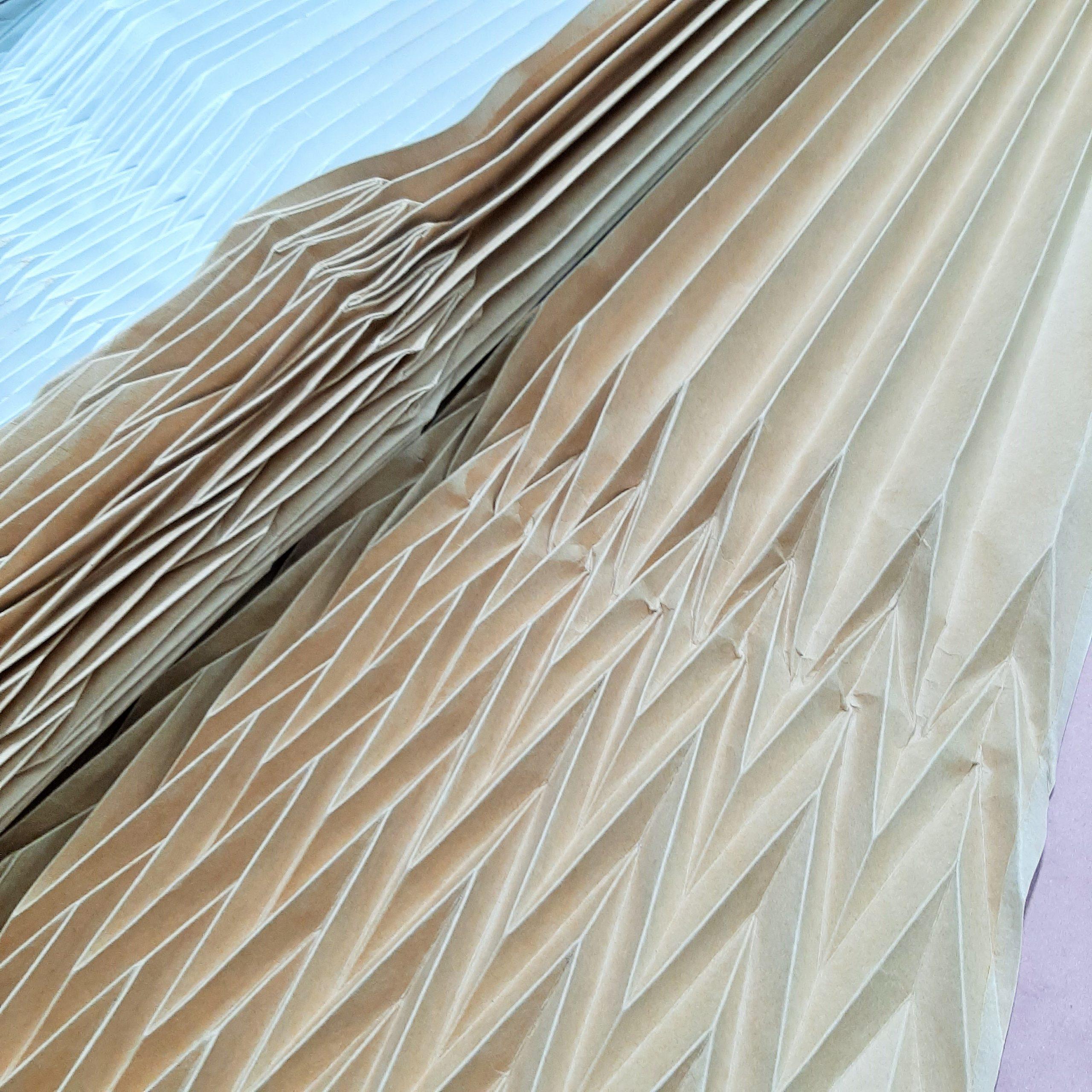 plissettatura soleil cartone